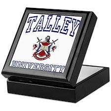 TALLEY University Keepsake Box