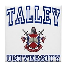 TALLEY University Tile Coaster