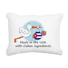 stork baby cuba 2 Rectangular Canvas Pillow