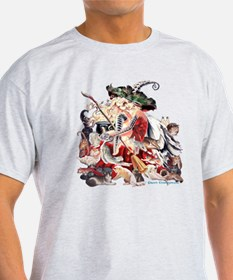 Ruth Thompsons Faerie Witch of Cats T-Shirt