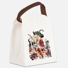 Ruth Thompsons Faerie Witch of Ca Canvas Lunch Bag
