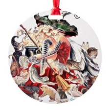 Ruth Thompsons Faerie Witch of Cats Ornament