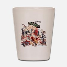Ruth Thompsons Faerie Witch of Cats Shot Glass