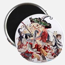 Ruth Thompsons Faerie Witch of Cats Magnet