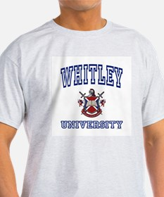WHITLEY University Ash Grey T-Shirt