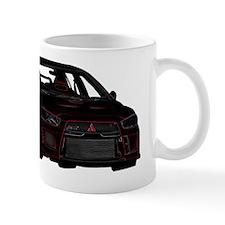 Evo - X - Black-Red Design - Glowing Ed Mug