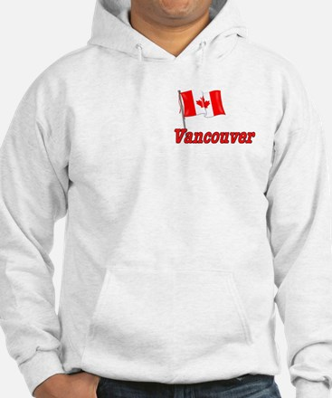 Canada Flag - Vancouver Text Hoodie