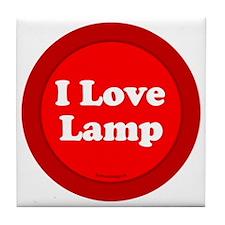 btn-love-lamp Tile Coaster