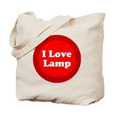 btn-love-lamp Tote Bag