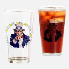 mistake_dk_shirt_cp Drinking Glass