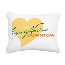 HeartFVDT Rectangular Canvas Pillow