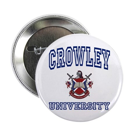 "CROWLEY University 2.25"" Button (100 pack)"