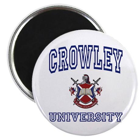 "CROWLEY University 2.25"" Magnet (10 pack)"