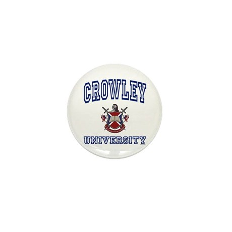 CROWLEY University Mini Button (100 pack)