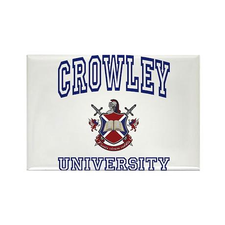 CROWLEY University Rectangle Magnet