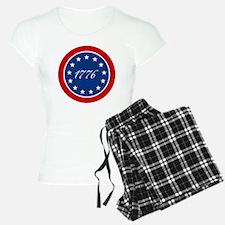 btn-patriot-1776-13stars Pajamas