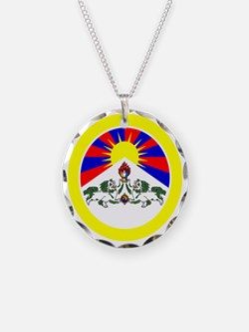 btn-flag-tibet Necklace