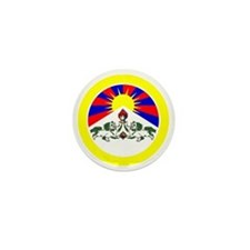 btn-flag-tibet Mini Button