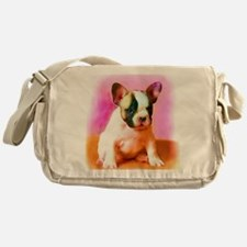 French bulldog art Messenger Bag