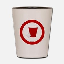 btn-red-cup Shot Glass