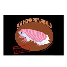 Save the Pink Fairy Armadillo Postcards (Package