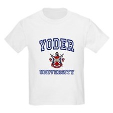 YODER University Kids T-Shirt
