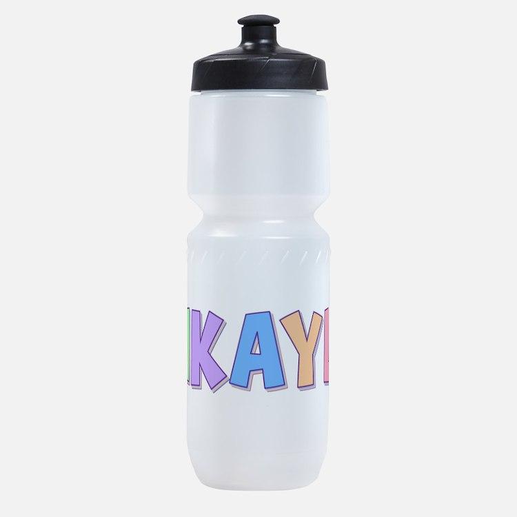 Mikayla Pastel Rainbow Sports Bottle