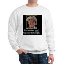 Reagan_Hope_Change_10x10 Sweatshirt