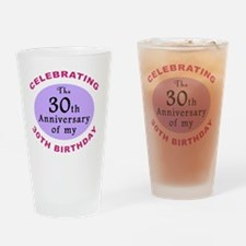 anniversay3 60th Drinking Glass