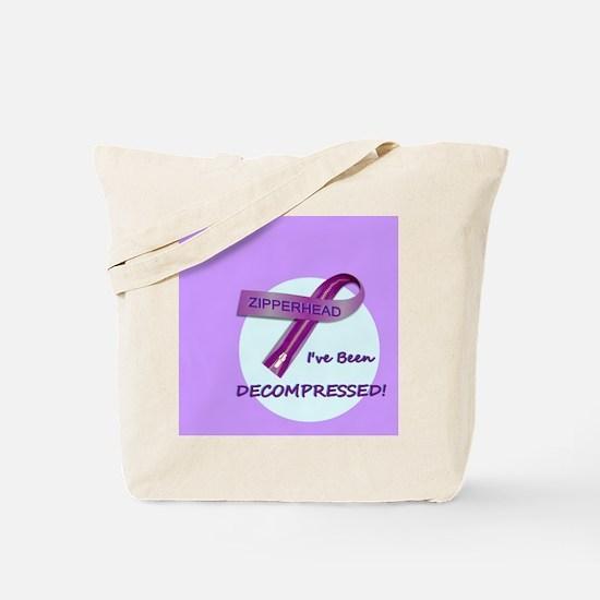 2-ButtonIveBeenDecompressed Tote Bag