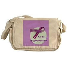2-ButtonIveBeenDecompressed Messenger Bag