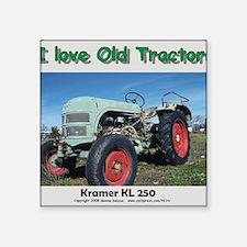 """Kramer KL250 left front CP Square Sticker 3"""" x 3"""""""