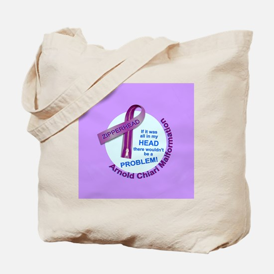 ButtonChiariAwareness Tote Bag