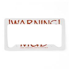 mudslinger License Plate Holder