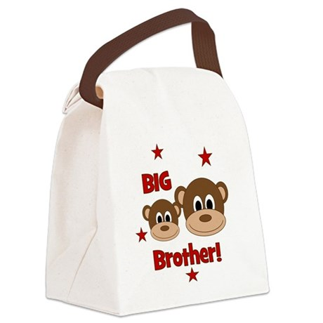 Monkey_BigBrother Canvas Lunch Bag