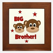 Monkey_BigBrother Framed Tile