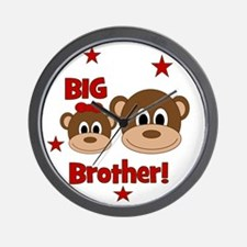 Monkey_BigBrother_girl Wall Clock