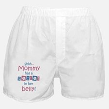 Shhh-mommy2 Boxer Shorts