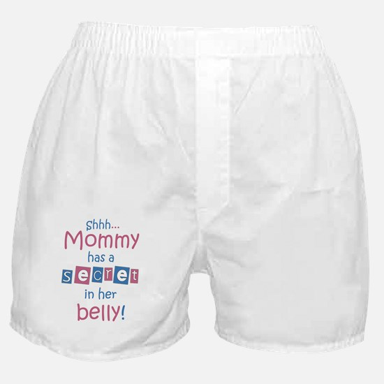 Shhh-mommy2 Boxer Shorts