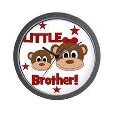 Monkey_LittleBrother_girl Wall Clock