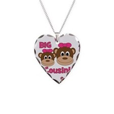 Monkey_Girl_BigCousin_girl Necklace