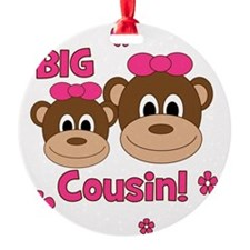 Monkey_Girl_BigCousin_girl Ornament