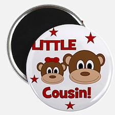 Monkey_LittleCousin_girl Magnet