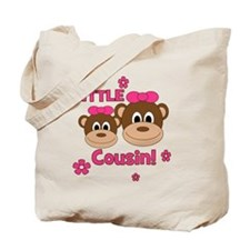 Monkey_Girl_LittleCousin_girl Tote Bag