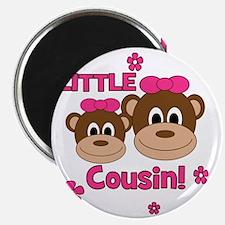 Monkey_Girl_LittleCousin_girl Magnet