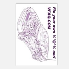 Wireframe-Cafepress-4000x Postcards (Package of 8)