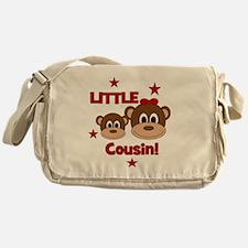 2-Monkey_LittleCousin_girl Messenger Bag