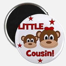 2-Monkey_LittleCousin_girl Magnet