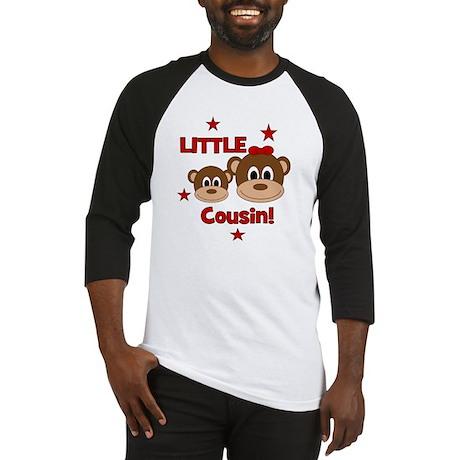 2-Monkey_LittleCousin_girl Baseball Jersey