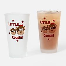 2-Monkey_LittleCousin_girl Drinking Glass